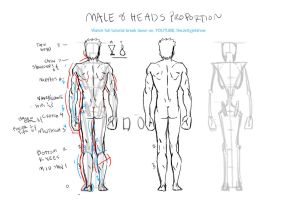 Guide To Back View Male by JetEffects