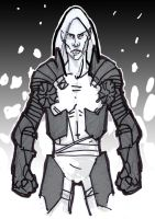 Elric of Melnibone concept by Japanese-Whaleboy