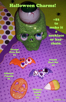 FOR SALE: Halloween Charms!! by beefyrae