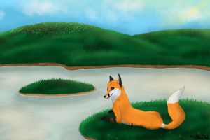 At The Riverside by Cevelt-MikLiak