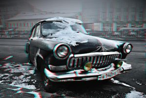 Classic Beauty 3-D conversion by MVRamsey