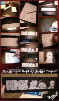 2D Design--Morgan and Reid by angelic-o-wings