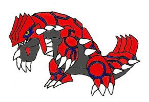 Groudon by BlackWolves1
