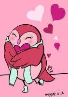 Valentines Owl by ditto9