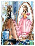 Cinderella with her mother's Dress by snuapril01