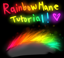 Glowing Rainbow Mane Video Tutorial by TheFireGypsy