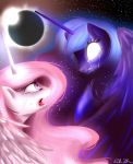 Triggering the Solar Eclipse by Rebecka-chan