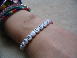 I am Sherlocked bracelet by ChibiAkita