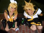 Len and Rin 3 by RaquelQuiros