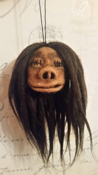 Harry Potter Knight Bus Shrunken Head by HeartfeltCreations