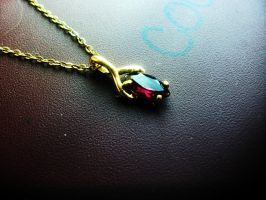 Violet's Necklace by DragonLover4Ever