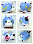 KH:3D - Meow Wow ( Polymer Clay Sculpture ) by WINGEDLESS