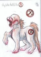 My Little Half Life by CliffeArts