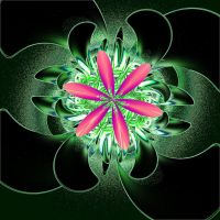 INCENDIA Flower Fractal by mooshroom
