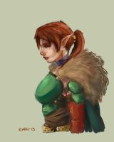 Elf Speed Paint by AndrewKwan