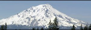 Mt. Shasta Panoramic Stock by Moonchilde-Stock
