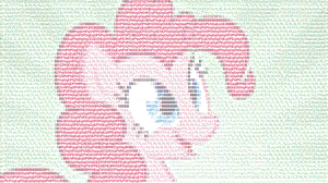 Pinkie Pie ASCII by Qeinone