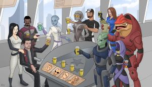 My Mass Effect 3 Ending by jtrazbo