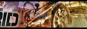 Race Driver Grid Banner by Melomonster