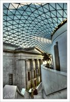 Inside the British Museum by Morillas