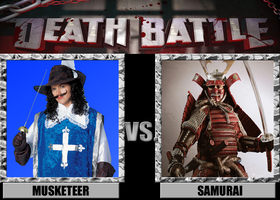 Death Battles: Musketeer Vs. Samurai by MrAngryDog