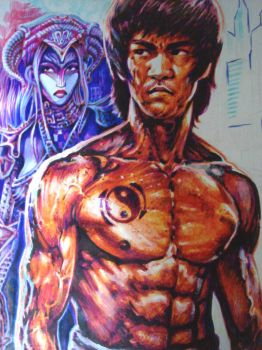 Bruce Lee alive by tonio48