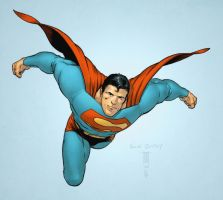 All Star Superman by spidermanfan2099