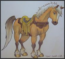 Epona - Spirit style by MichelleWalker