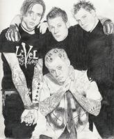 Rolling Stone Good Charlotte by shad0wz0ne