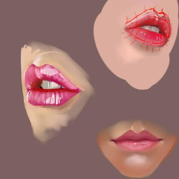 Lip Practice 1 by SuperSaiyan3Scooby