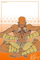 Dhalsim and thats it by narutowannabe