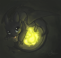 HTTYD- Toothless by Sunofureku