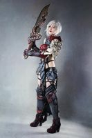 Vengeance (Guild Wars 2 Cosplay) by darkestcountryroad