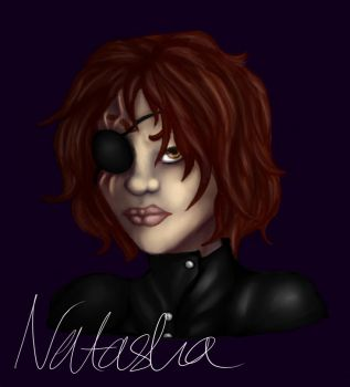 Natasha bust by Starlight-Of-Arraya