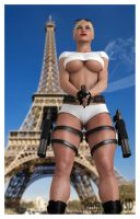 Copgirl in Paris by Radamantis3d