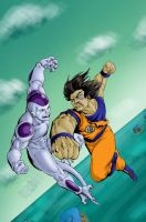 Strongest in the Universe Color by CarlChrappa