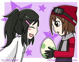 My First Poke-Egg by CrisUchiha