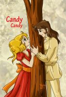 Candy Candy y Terry by yoyishide