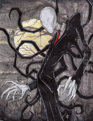 Slenderman by ChrisOzFulton