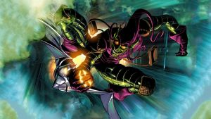 The Green Goblin HD Wallpaper (clean) by squee6666