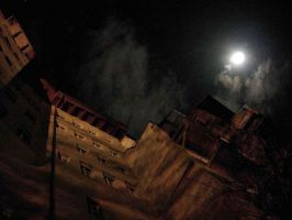 Under the moon warmth by dr-snoggle