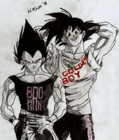 Bad Man AND Golden Boy by myworldmycapture