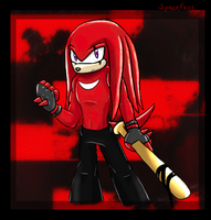 Yet another Knuckles O.C by SpaceFoxy
