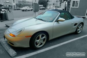 Boxster Front by Azraphale