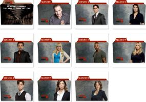 Criminal Minds Folder Icons by nellanel