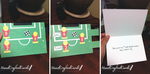 Foosball Father's Day Card by HandCraftedCards