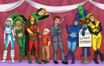 Justice League International by Card-Queen