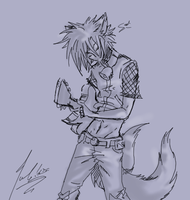 Demonchild's Kyle on Guitar by RastaPickney-Juls