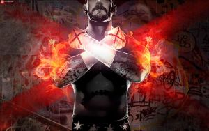 WWE `13 REVOLUTION with CM Punk Wallpaper by briorey