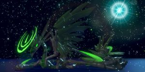 Star Among Stars -Spore- -Blender- by Tyroth-Dartvyn